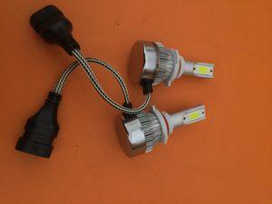 9005 led Headlight bulbs. 6000 k for Sale in Los Angeles, CA