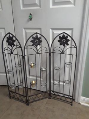 Candle Holder fireplace screen for Sale in Jacksonville, FL