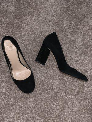 Tory Burch Black Suede heels, size 8.5 for Sale in Alexandria, VA