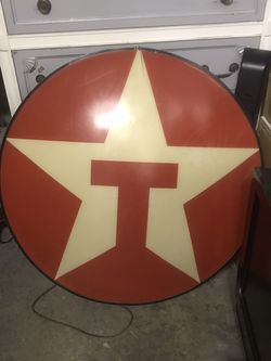 Vintage Lighted Texaco Sign for Sale in San Marcos,  CA