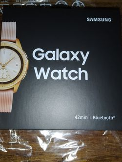 BRAND NEW Samsung Galaxy Watch (42mm) Rose Gold (GPS, Bluetooth) for Sale in Seattle,  WA