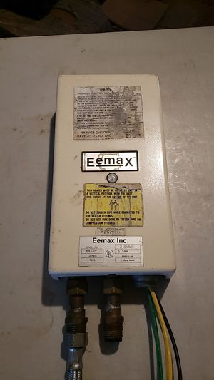 Eemax Tankless water heater for Sale in Fresno, CA