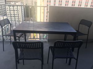 IKEA Black Dining Table for Sale in San Francisco, CA