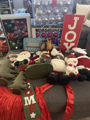 Christmas decorations for Sale in Drexel Hill, PA
