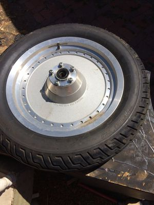 Harley Davidson front tire & rim for Sale in Martinez, CA