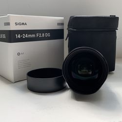 Sigma 14-24 F2.8 Canon EF Lens for Sale in Los Angeles,  CA
