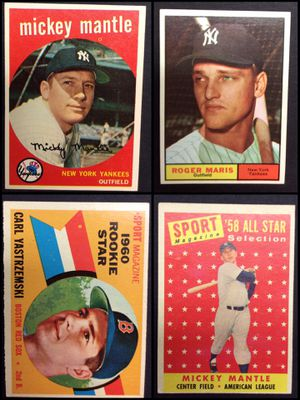 Vintage Topps baseball cards for Sale in Manchester, MO