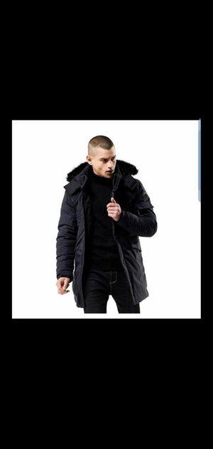 Parka winter jacket with detachable hood for Sale in Arlington, VA