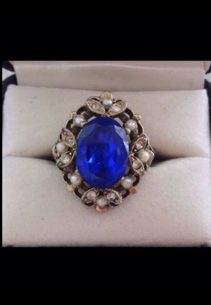 Vintage Blue Ring. Size 8 for Sale in Fort Myers, FL