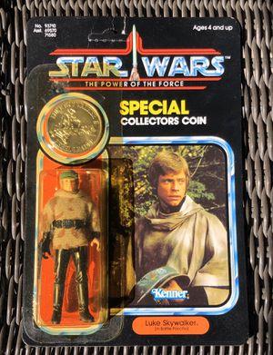 Vintage Star Wars POTF LUKE SKYWALKER Action Figure ON Card for Sale in San Diego, CA