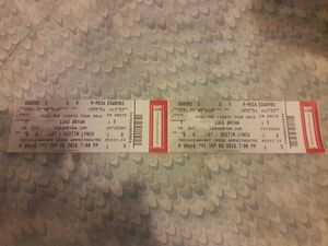Luke Bryan concert tickets tonight PAID 350 for Sale in Durham, NC