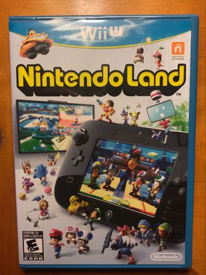 NintendoLand NEW! Nintendo Wii U Video game complete in box. for Sale in Lisle, IL