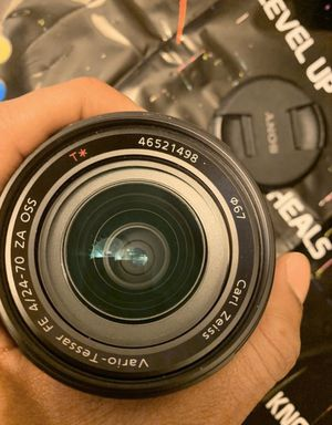 Camera Lens Sony Zeiss for Sale in Upper Darby, PA