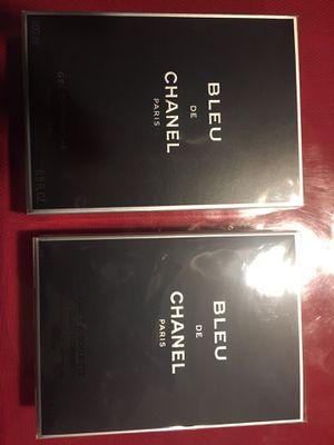 Perfume BLEU de CHANEL 3.4 FL OZ y shower gel CHANEL 6.8 FL OZ both for $150 for Sale in Los Angeles, CA