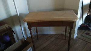 Antique table / desk with a drawer to store your stuff, for Sale in Kennewick, WA