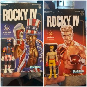 ROCKY 4 IVAN DRAGO & APOLLO CREED ACTION FIGURES for Sale in Lakewood, OH