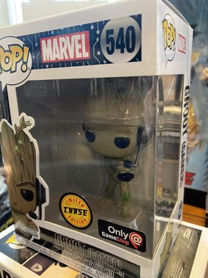 Funko pop! Groot ( gamer ) 540 chase for Sale in Monee, IL