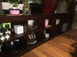 TWO GORGEOUS IDENTICAL SOLID CHERRY WOOD CUBES/BOOKSHELVES for Sale in New York, NY