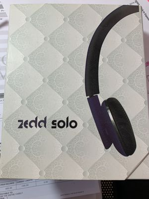 Zedd Solo Headphones for Sale in Spring Lake Park, MN