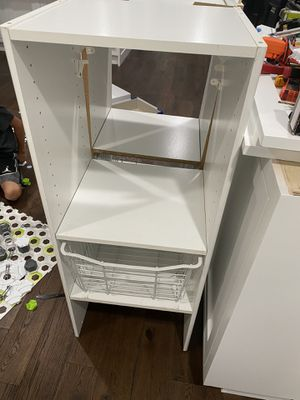 Closet organizer with baskets for Sale in Lomita, CA