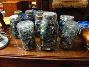 Vintage Marbles in Jars - various prices 10-20 each for Sale in Clovis, CA