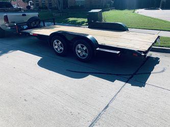 16 ' Equipment utility/ Car hauler Trailer for Sale in Dallas,  TX