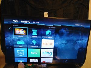 Tcl 55 inch roku tv for Sale in Lone Grove, OK