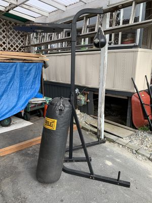 HEAVY BAG FRAME WITH BAG for Sale in Renton, WA