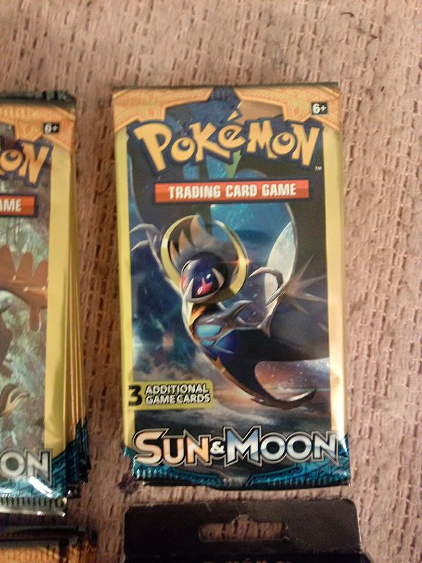 Pokémon 3-card boosters packs + more