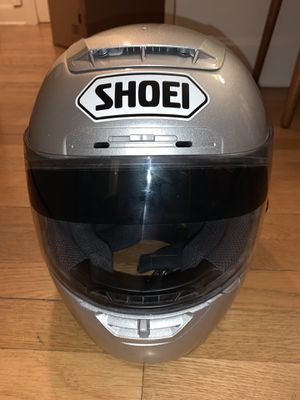 Shoei X-Eleven X-11, Gloss, Silver Motorcycle Race Helmet, Large for Sale in Seattle, WA