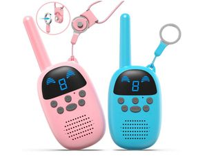 Walkie Talkies for Kids, Handheld Child Gift Walky Talky, Two-Way Radio Boys & Girls Toys Age 4-12, for Indoor Outdoor Hiking Adventure Game for Sale in Rancho Cucamonga, CA