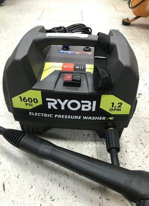Ryobi pressure washer 1600 psi 1.2gpm for Sale in Austin, TX