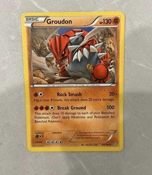 ultra rare groudon legendary pokemon card mint for Sale in Rockville, MD
