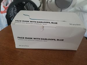 Brand new sealed 50PCS face masks blue color for Sale in Columbus, OH