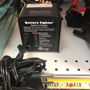 Battery Fighter, Automatic Battery Charger, Model BFA-012-120 $29.99+tax for Sale in Hollywood, FL