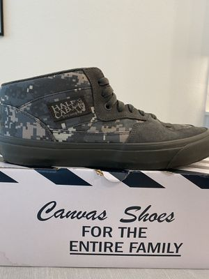 Vans Digi Camo Half Cab Shoes 10.5 for Sale in Argyle, TX