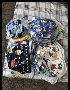 Cloth diapers and inserts for Sale in Farmington Hills, MI
