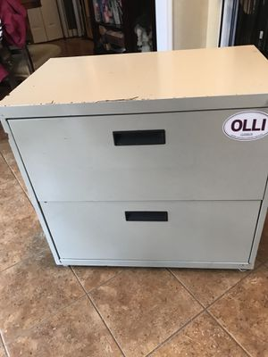 Large double drawer filing cabinet for Sale in Greenville, SC