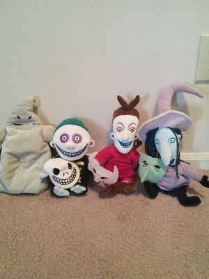 12 inch nightmare before Christmas stuffed animals for Sale in Charleston, SC