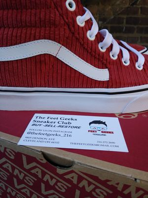 VANS SK8 HI CORDUROY LIMTED EDITION MENS SHOES SIZE 6.5 WOMENS SIZE 8 NEW WITH BOX $75 for Sale in Cleveland, OH