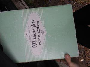 Mason Jar Patio Lights for Sale in Gallitzin, PA