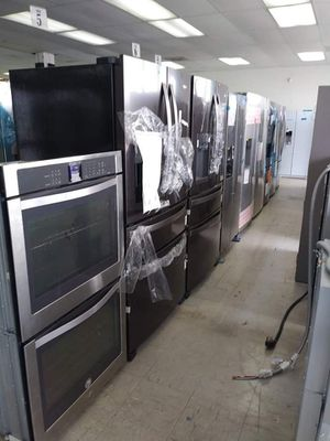 Refrigerators,stoves (gas and electric), washer and dryers machines, double ovens ,all at the same place (sunrise) for Sale in Oakland Park, FL