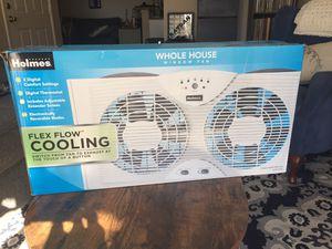 Holmes Window Fan w/ Thermostat for Sale in Orange, CA