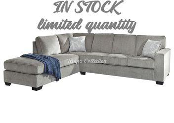 New Sectional Sofa, Slate, SKU# ASH87214LAF for Sale in Santa Fe Springs,  CA