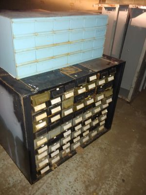 Parts and screw bins for Sale in Detroit, MI