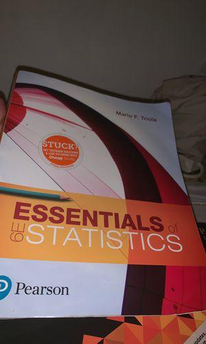Essentials of Statistics for Sale in Margate, FL