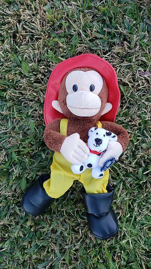 Firefighter Curious George for Sale in La Mirada, CA