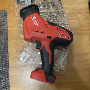 Milwaukee M18 Cordless Hackzall Reciprocating Saw (Tool-Only) New for Sale in San Diego, CA