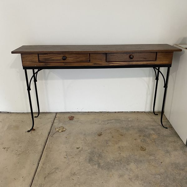 PRICE REDUCED! Charleston Forge Console Table