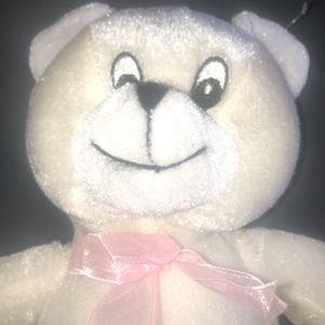 Soft White Teddy Bear Plush for Sale in Wilmington, OH